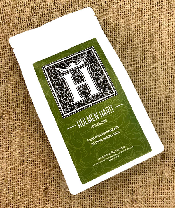 A blend of superior African, Asian and Central American Coffee beans.