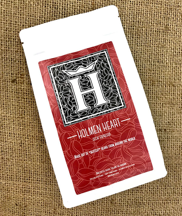 Holmen Heart - Coffee