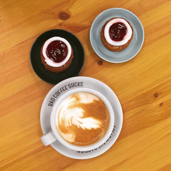 Cappuccino Tasse & Untertasse - Holmen Coffee